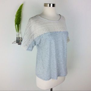 J. Crew Stylishly Gorgeous Lacy Top Size (S)